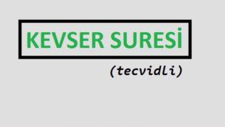 KevserSuresi– Tecvidli