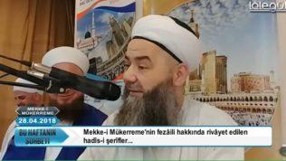 Mekke-i Mükerreme Sohbeti Cübbeli Ahmet Hoca