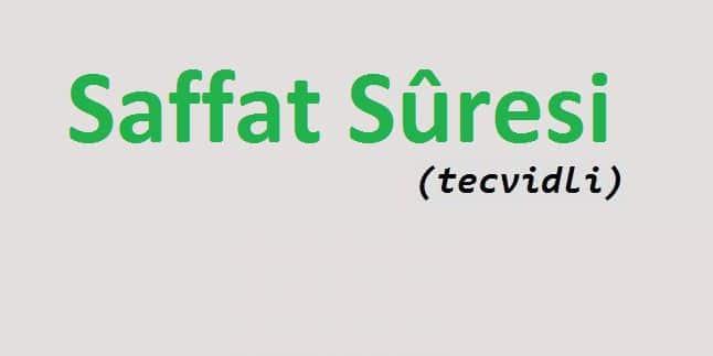 Saffat Suresi